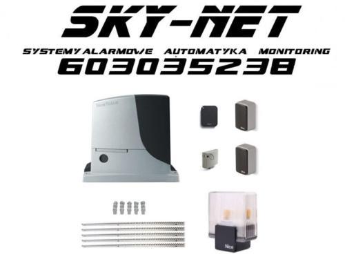 Sky-Net Automat do bramy przesuwnej